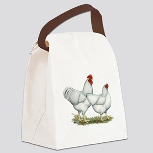 White Rock Chickens Canvas Lunch Bag