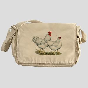 White Rock Chickens Messenger Bag