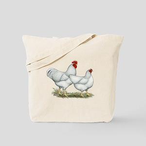 White Rock Chickens Tote Bag