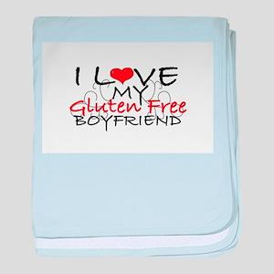 I love my Gluten Free Boyfriend baby blanket