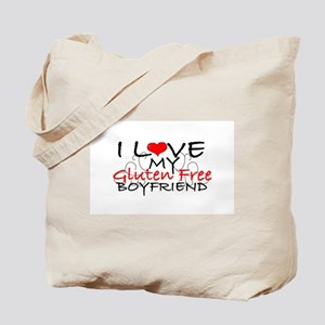 I love my Gluten Free Boyfriend Tote Bag