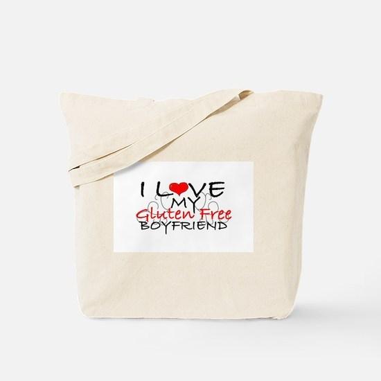 I love my Gluten Free Boyfriend Tote Bag