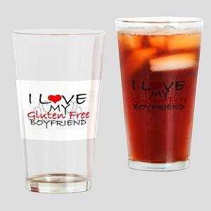 I love my Gluten Free Boyfriend Drinking Glass