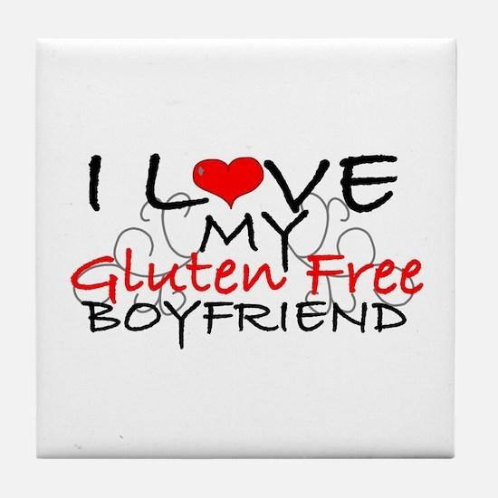 I love my Gluten Free Boyfriend Tile Coaster