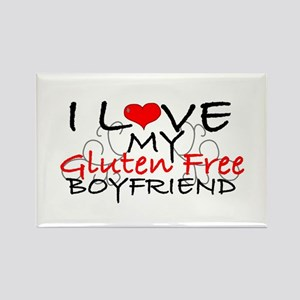 I love my Gluten Free Boyfriend Rectangle Magnet