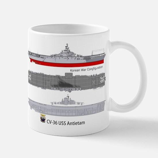 USS Antietam CV-36 Mug