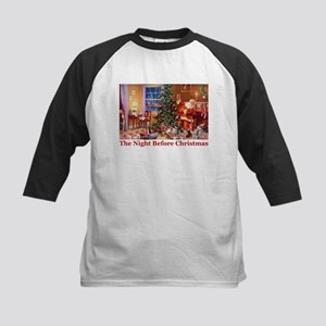 The Night Before Christmas Kids Baseball Jersey