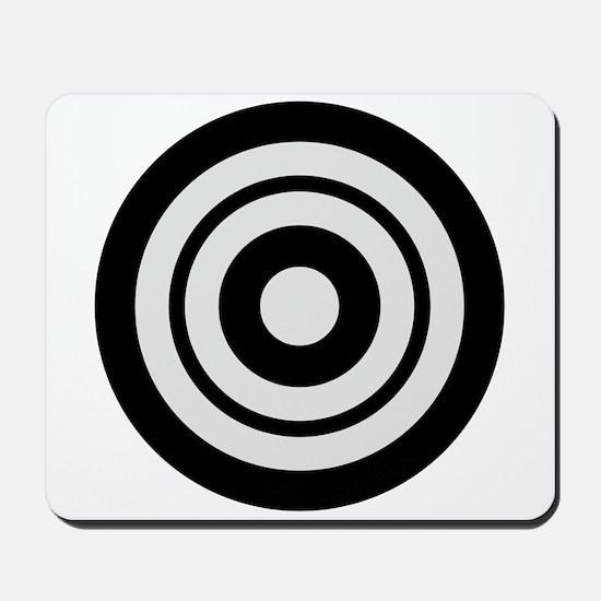 Kyudo target Mousepad
