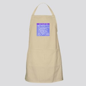 Things to be Happy About Apron