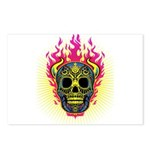 skull Dull Flames Postcards (Package of 8)