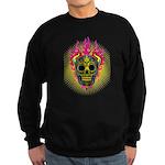 skull Dull Flames Sweatshirt (dark)