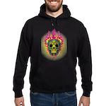 skull Dull Flames Hoodie (dark)