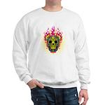 skull Dull Flames Sweatshirt