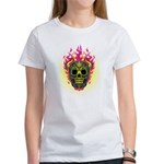 skull Dull Flames Women's T-Shirt