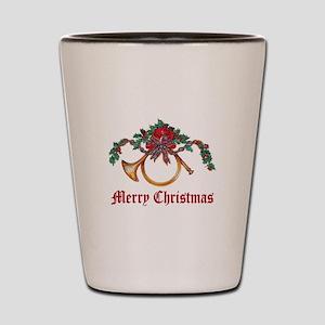 Merry Christmas Shot Glass