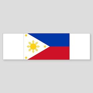 Philippine flag Sticker (Bumper)