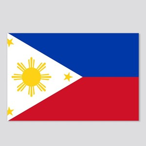 Philippine flag Postcards (Package of 8)