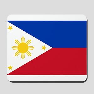 Philippine flag Mousepad