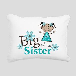 Ethnic Big Sister Rectangular Canvas Pillow