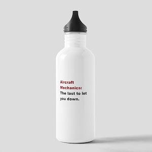 aircraft mech design 1 Stainless Water Bottle 1.0L