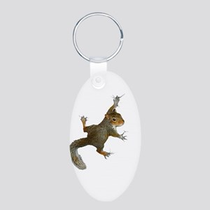 """Hang On Baby Rowdy"" Aluminum Oval Keychain"