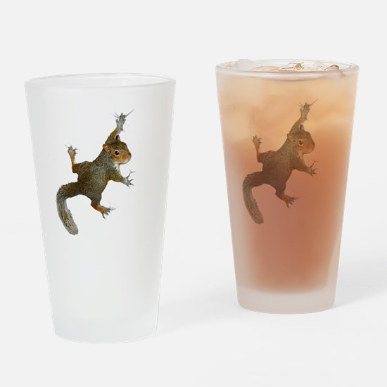 """""""Hang On Baby Rowdy"""" Drinking Glass"""