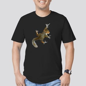 """""""Hang On Baby Rowdy"""" Men's Fitted T-Shirt (dark)"""