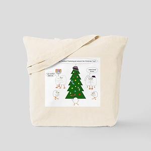 Christmas for Tango Fanatics Tote Bag