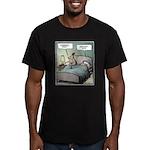 Goodnight Honey Men's Fitted T-Shirt (dark)