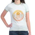 Eye of Providence 3 Jr. Ringer T-Shirt