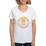 Eye of Providence 3 Women's V-Neck T-Shirt
