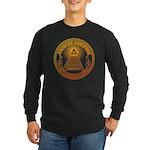 Eye of Providence 3 Long Sleeve Dark T-Shirt
