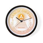Eye of Providence 3 Wall Clock
