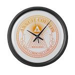 Eye of Providence 3 Large Wall Clock
