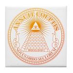 Eye of Providence 3 Tile Coaster