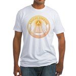 Eye of Providence 3 Fitted T-Shirt