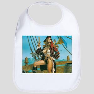 pin-up pirate Bib