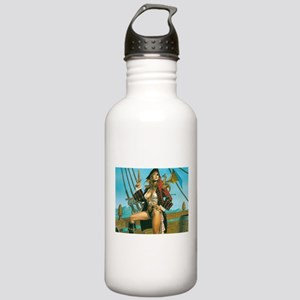 pin-up pirate Stainless Water Bottle 1.0L