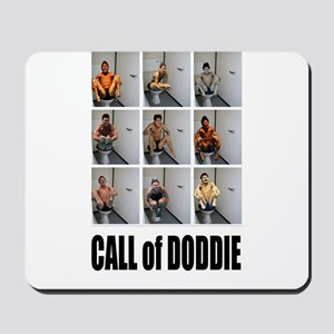 call of doodie Mousepad