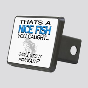 Nice Fish Rectangular Hitch Cover