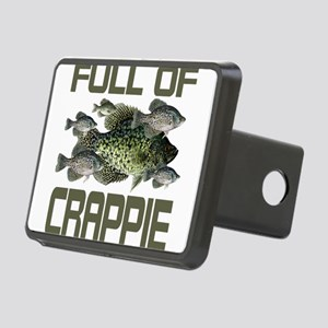 Full of Crappie Rectangular Hitch Cover