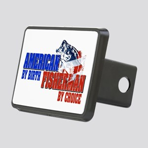 American by Birth - Fisher Rectangular Hitch Cover