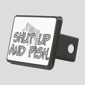 Shut up and fish. Rectangular Hitch Cover