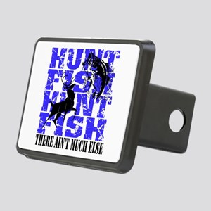 Hunt Fish Rectangular Hitch Cover