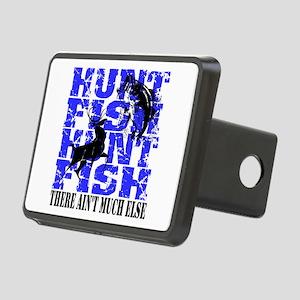Hunt Fish Rectangular Hitch Cover
