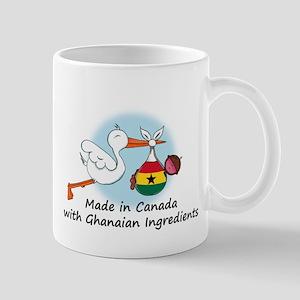 Stork Baby Ghana Canada Mug