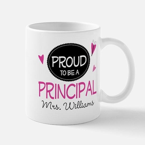 School Principal Personalized Gift Mugs