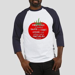 Tomato Smarts Baseball Jersey