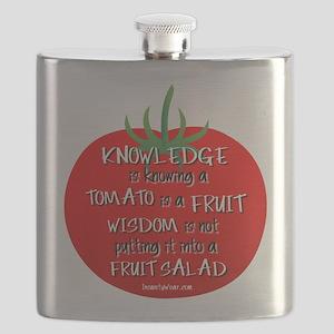 Tomato Smarts Flask