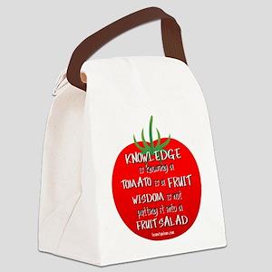 Tomato Smarts Canvas Lunch Bag